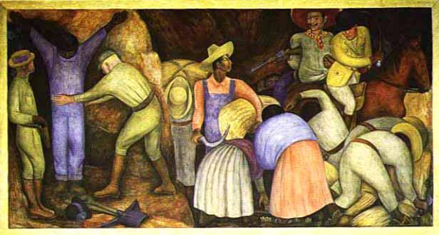 Diego Rivera: Los explotados