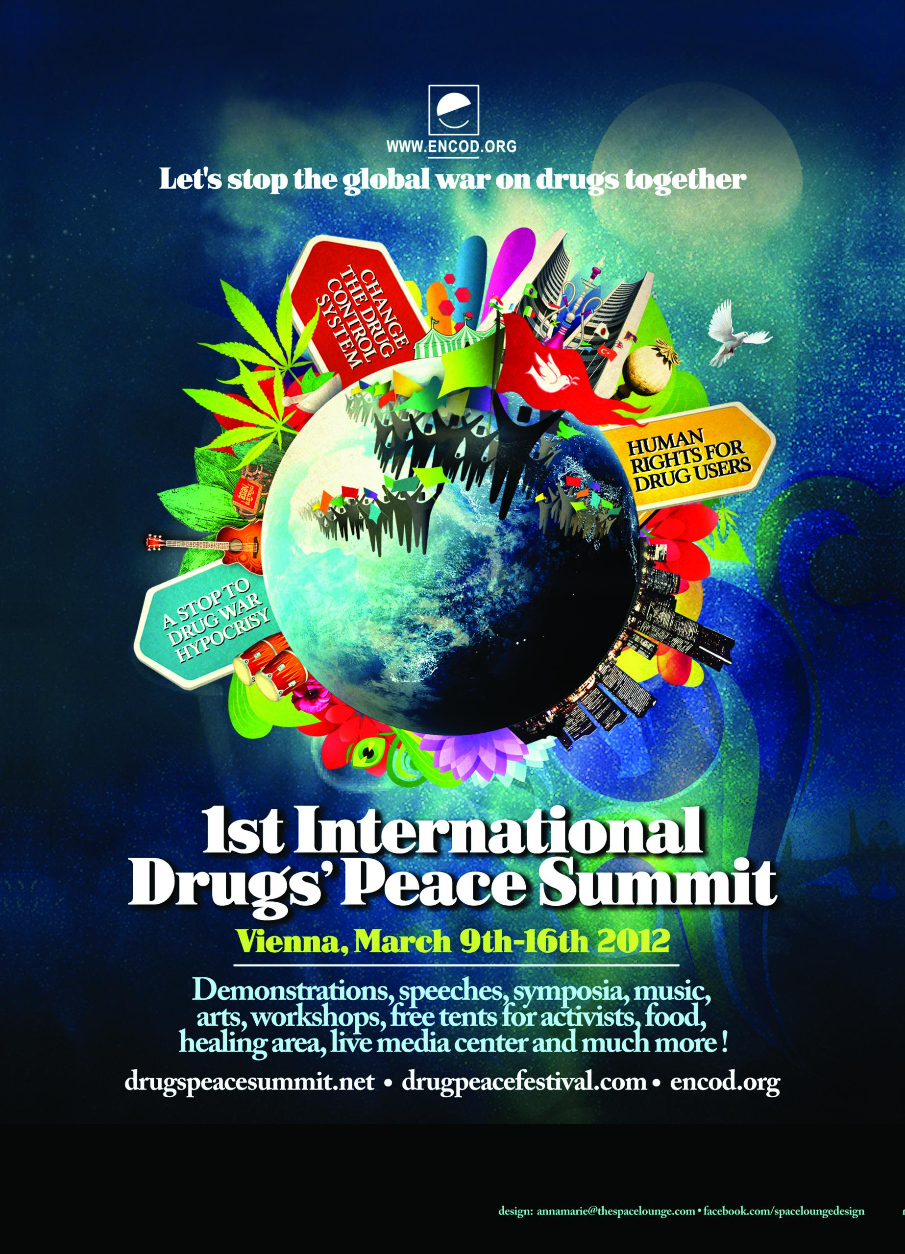 1st International Drugs'Peace Summit 2012