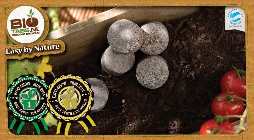 BioTabs organic fertilisers is an innovative Dutch research company
